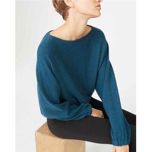 CLUB MONACO Mogan Scoop-neck Pullover Sweater Med